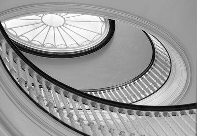 Spiral Staircase at the George Eastman House