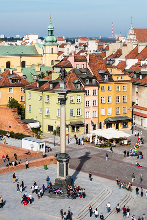 Old Town Square, Warsaw