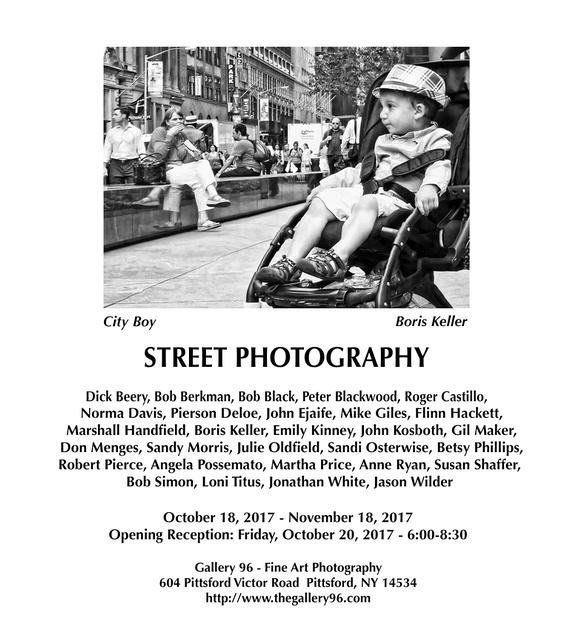 October 18-November 18, 2017 at Gallery 96. Reception October 20.