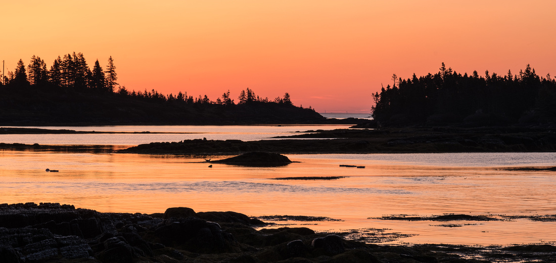 Sunrise at Blue Rocks, NS