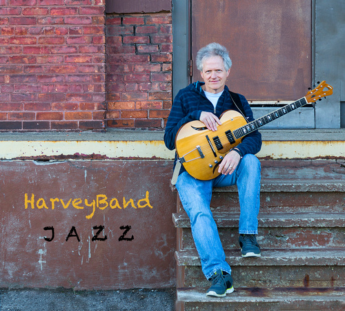 Harvey's new album - HarveyBand Jazz