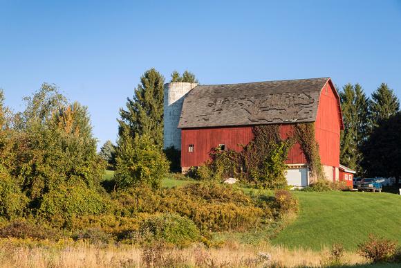 barn in western Wayne County