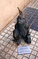 One of the gnomes of Wroclaw, Poland