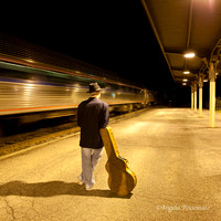 "CD cover photo  ""One Way Ticket"" by Harvey Possemato"