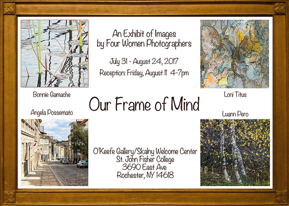 Our Frame of Mind Exhibit