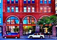Colorful Buildings, Downtown Rochester