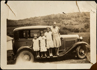"Mom and her sisters  circa 1932, ""before"""